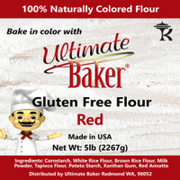 Ultimate Baker Gluten Free Baking Flour Red (1x5lb)