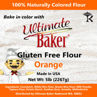 Ultimate Baker Gluten Free Baking Flour Orange (1x5lb)