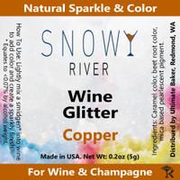 Snowy River Copper Wine Glitter (1x1oz)