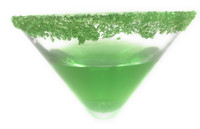 Snowy River Cocktail Sugar Green (1x8oz)