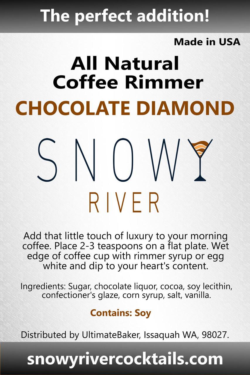 Snowy River Coffee Rimmer Chocolate Diamond (1x5lb)