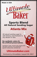 Ultimate Baker Sportz Blend Sanding Sugar Atlanta Mix (1x16lb)