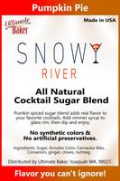 Snowy River Cocktail Sugar Pumpkin Pie mix (1x8oz)