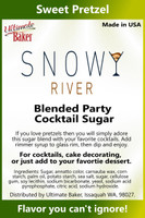 Snowy River Cocktail Sugar Sweet Pretzel (1x8oz)