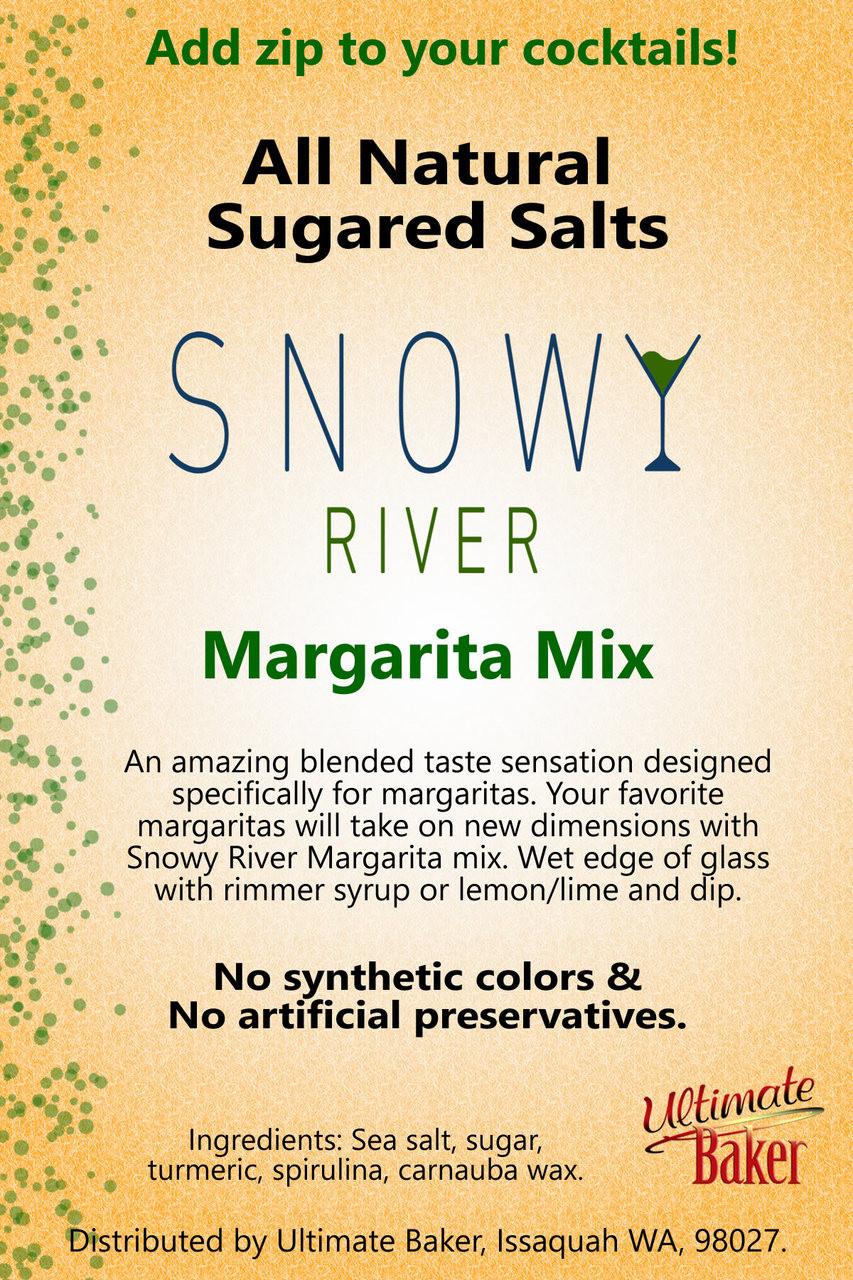 Snowy River Cocktail Sugared Salts Margarita Mix (1x8oz)