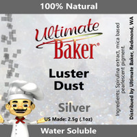 Ultimate Baker Luster Dust Silver (1x2.5g)