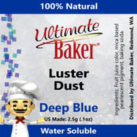 Ultimate Baker Luster Dust Deep Blue (1x2.5g)