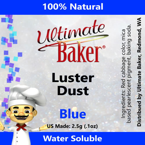 Ultimate Baker Luster Dust Blue (1x2.5g)
