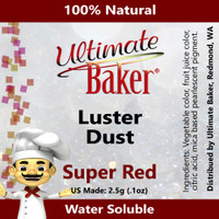 Ultimate Baker Luster Dust Super Red (1x2.5g)
