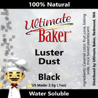 Ultimate Baker Luster Dust Black Pearl (1x2.5g)