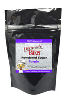 Ultimate Baker Natural Powdered Sugar Purple (1x4oz Bag)