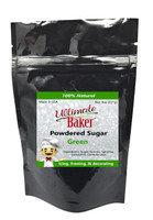 Ultimate Baker Natural Powdered Sugar Green (1x8oz Bag)