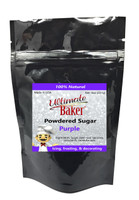 Ultimate Baker Natural Powdered Sugar Purple (1x8oz Bag)