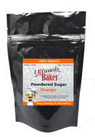 Ultimate Baker Natural Powdered Sugar Orange (1x1lb)