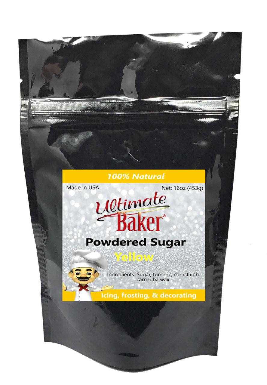 Ultimate Baker Natural Powdered Sugar Yellow (1x1lb)