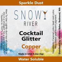 Snowy River Cocktail Glitter Copper (1x5.0g)