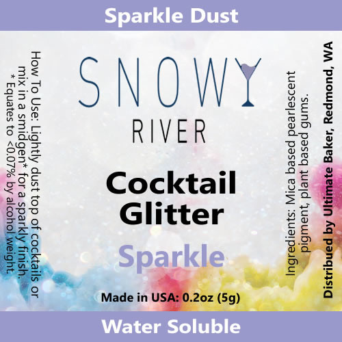 Snowy River Cocktail Glitter Sparkle (1x5.0g)