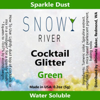 Snowy River Cocktail Glitter Green (1x5.0g)