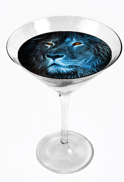 Snowy River Cocktail Toppers Lion (1x6Pack)