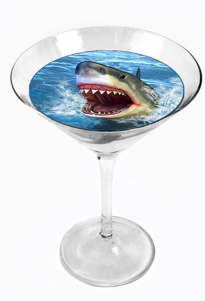 Snowy River Cocktail Toppers Shark Attack (1x6Pack)
