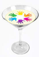 Snowy River Cocktail Toppers Hands (1x6Pack)