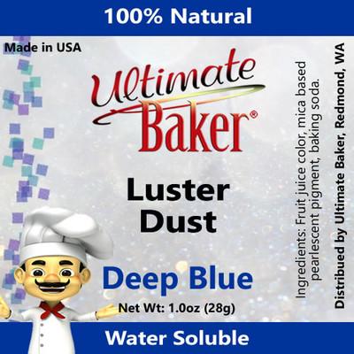 Ultimate Baker Luster Dust Deep Blue (1x28g)