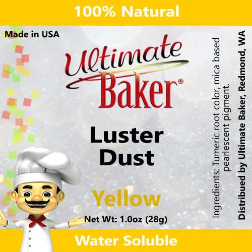 Ultimate Baker Luster Dust Yellow (1x28g)