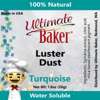 Ultimate Baker Luster Dust Turquoise (1x28g)