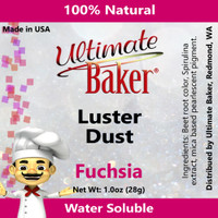 Ultimate Baker Luster Dust Fuchsia (1x28g)