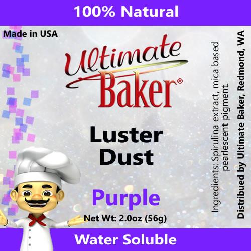 Ultimate Baker Luster Dust Purple (1x56g)