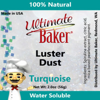 Ultimate Baker Luster Dust Turquoise (1x56g)