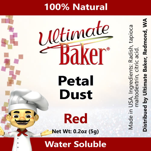 Ultimate Baker Petal Dust Red (1x5.0g)