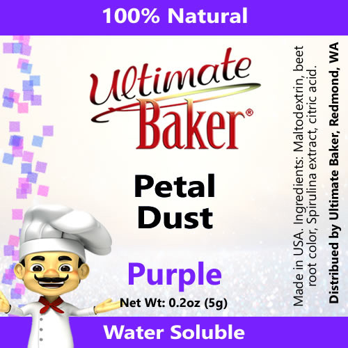 Ultimate Baker Petal Dust Purple (1x5.0g)