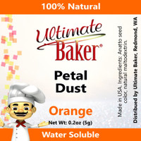 Ultimate Baker Petal Dust Orange (1x5.0g)