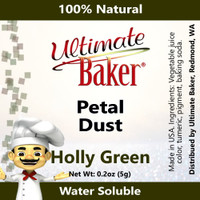 Ultimate Baker Petal Dust Holly Green (1x5.0g)