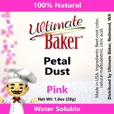 Ultimate Baker Petal Dust Pink (1x28g)