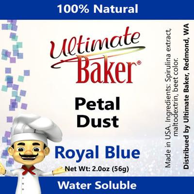 Ultimate Baker Petal Dust Royal Blue (1x56g)