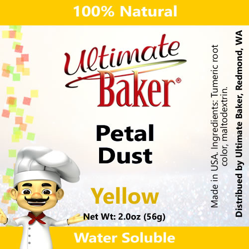 Ultimate Baker Petal Dust Yellow (1x56g)