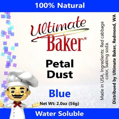 Ultimate Baker Petal Dust Blue (1x56g)