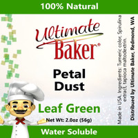 Ultimate Baker Petal Dust Leaf Green (1x56g)