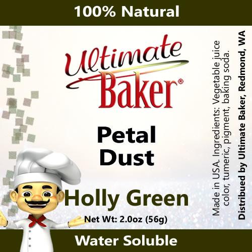 Ultimate Baker Petal Dust Holly Green (1x56g)