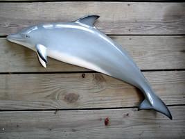 38 inch Porpoise half mount fiberglass replica