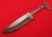 Alabama Damascus Knife Blank / ADS0074-DKB