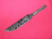 Alabama Damascus Knife Blank / ADS0052-DKB
