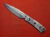 Alabama Damascus Knife Blank / ADS0089-DKB