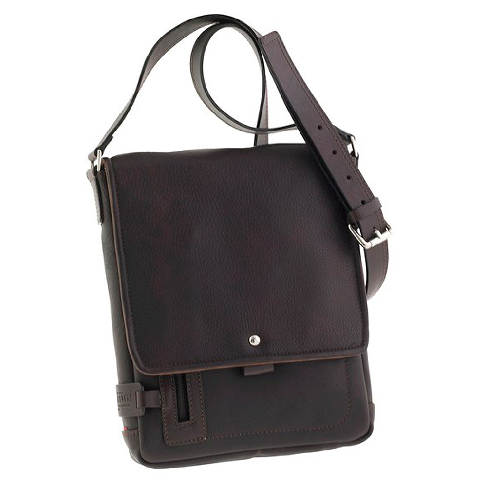 Italian Designer Leather Messenger Bags - Attavanti
