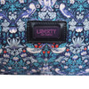 Bonfanti Leather and Liberty Print Weekend Cabin Bag - Strawberry Thief 4