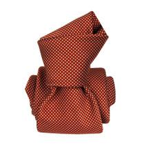 Segni & Disegni Italian Handmade Silk Tie - Copper White