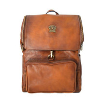 Pratesi Montal Italian Leather Backpack - Tan