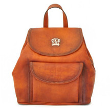 Pratesi Gaville Italian Leather Backpack - Tan